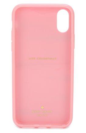 Мужской чехол для iphone х с принтом KATE SPADE NEW YORK розового цвета, арт. 8ARU2419 | Фото 2