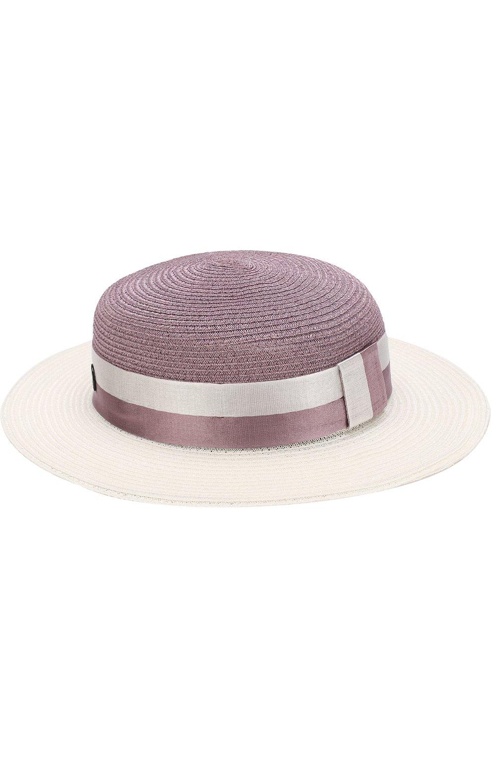 Женская шляпа rod с лентой MAISON MICHEL сиреневого цвета, арт. 1062015004/R0D   Фото 2