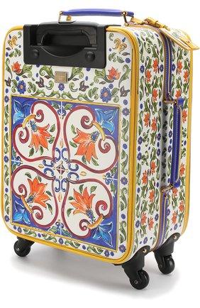 Женская чемодан sicily trolley DOLCE & GABBANA разноцветного цвета, арт. BB6202/AI230 | Фото 2