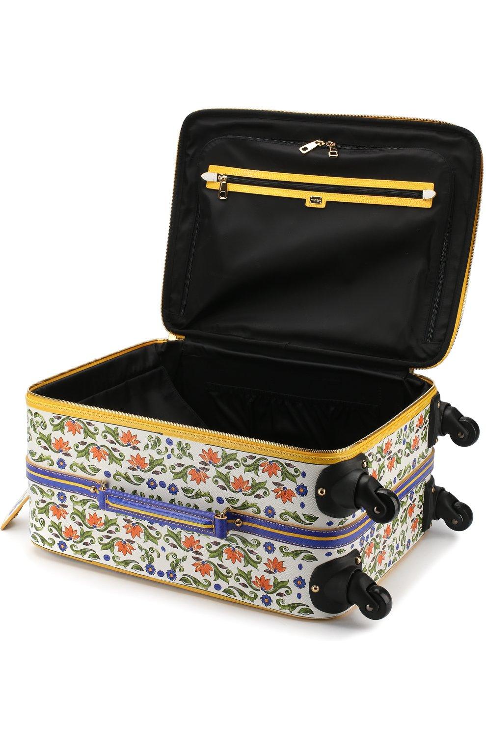 Женская чемодан sicily trolley DOLCE & GABBANA разноцветного цвета, арт. BB6202/AI230 | Фото 3