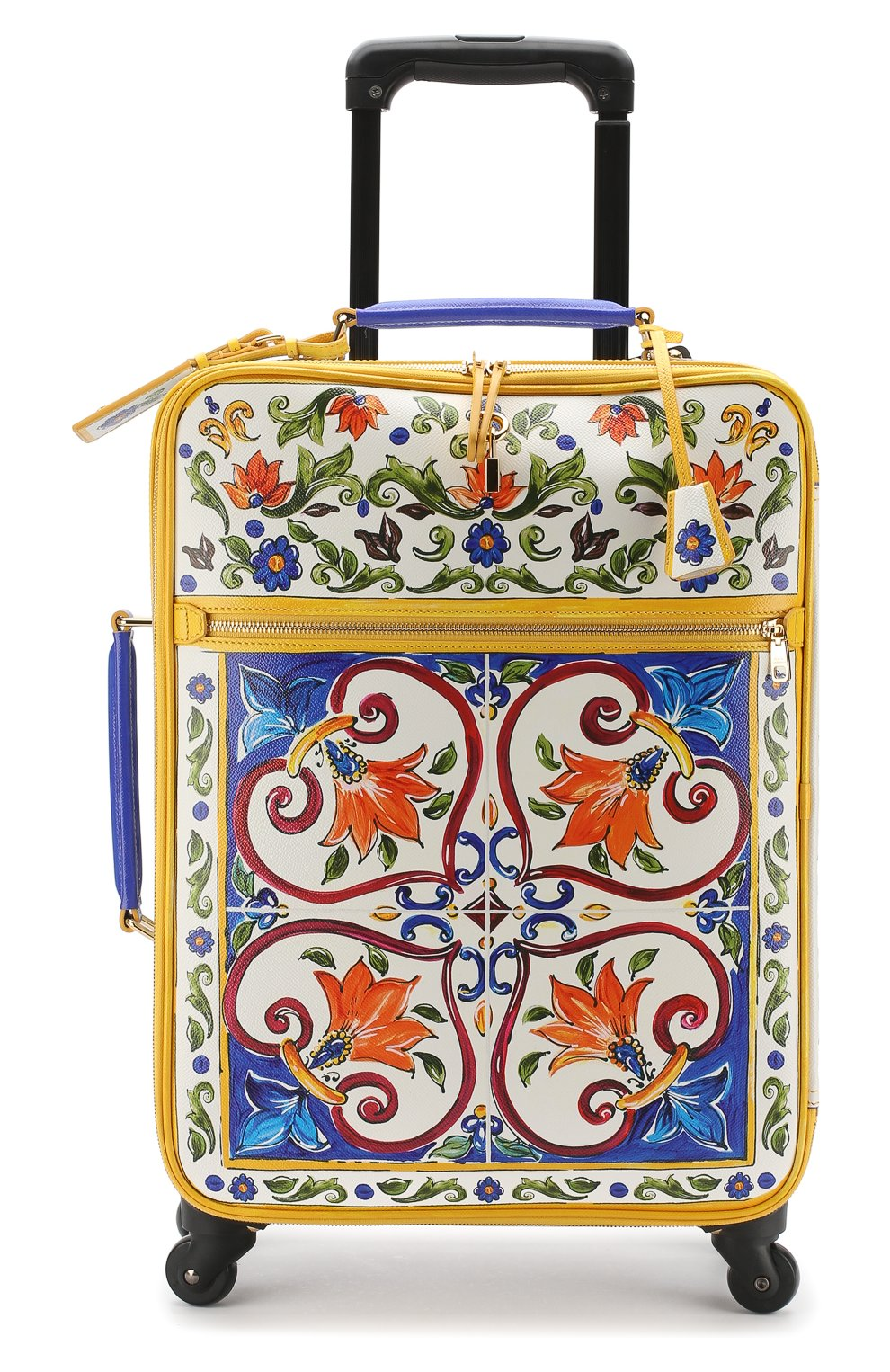 Женская чемодан sicily trolley DOLCE & GABBANA разноцветного цвета, арт. BB6202/AI230 | Фото 4
