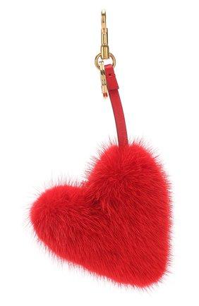 Брелок из меха норки в виде сердца | Фото №2