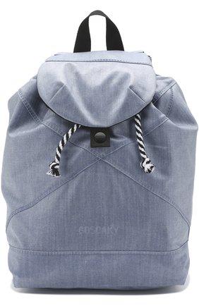 Текстильный рюкзак Gosoaky голубого цвета | Фото №1