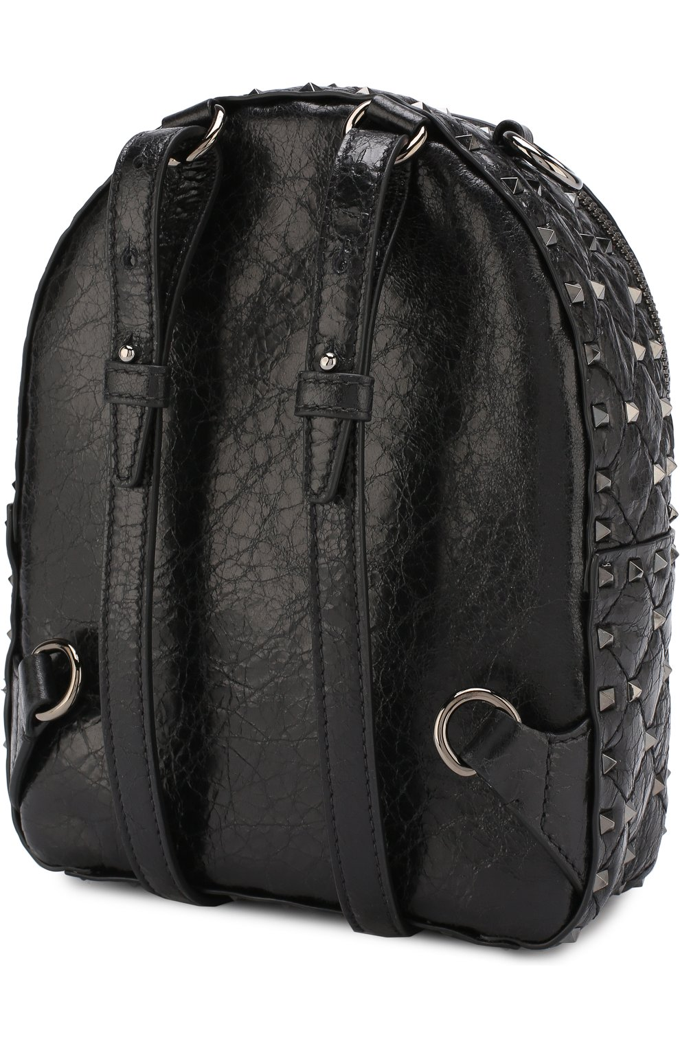 Женский рюкзак valentino garavani rockstud spike mini VALENTINO черного цвета, арт. PW0B0B63/ARD | Фото 3