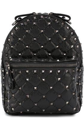 Женский рюкзак valentino garavani rockstud spike mini VALENTINO черного цвета, арт. PW0B0B63/ARD | Фото 5