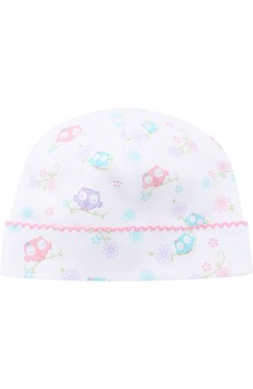Детского хлопковая шапка KISSY KISSY разноцветного цвета, арт. S1845606P | Фото 1