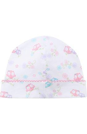 Детского хлопковая шапка KISSY KISSY разноцветного цвета, арт. S1845606P | Фото 2