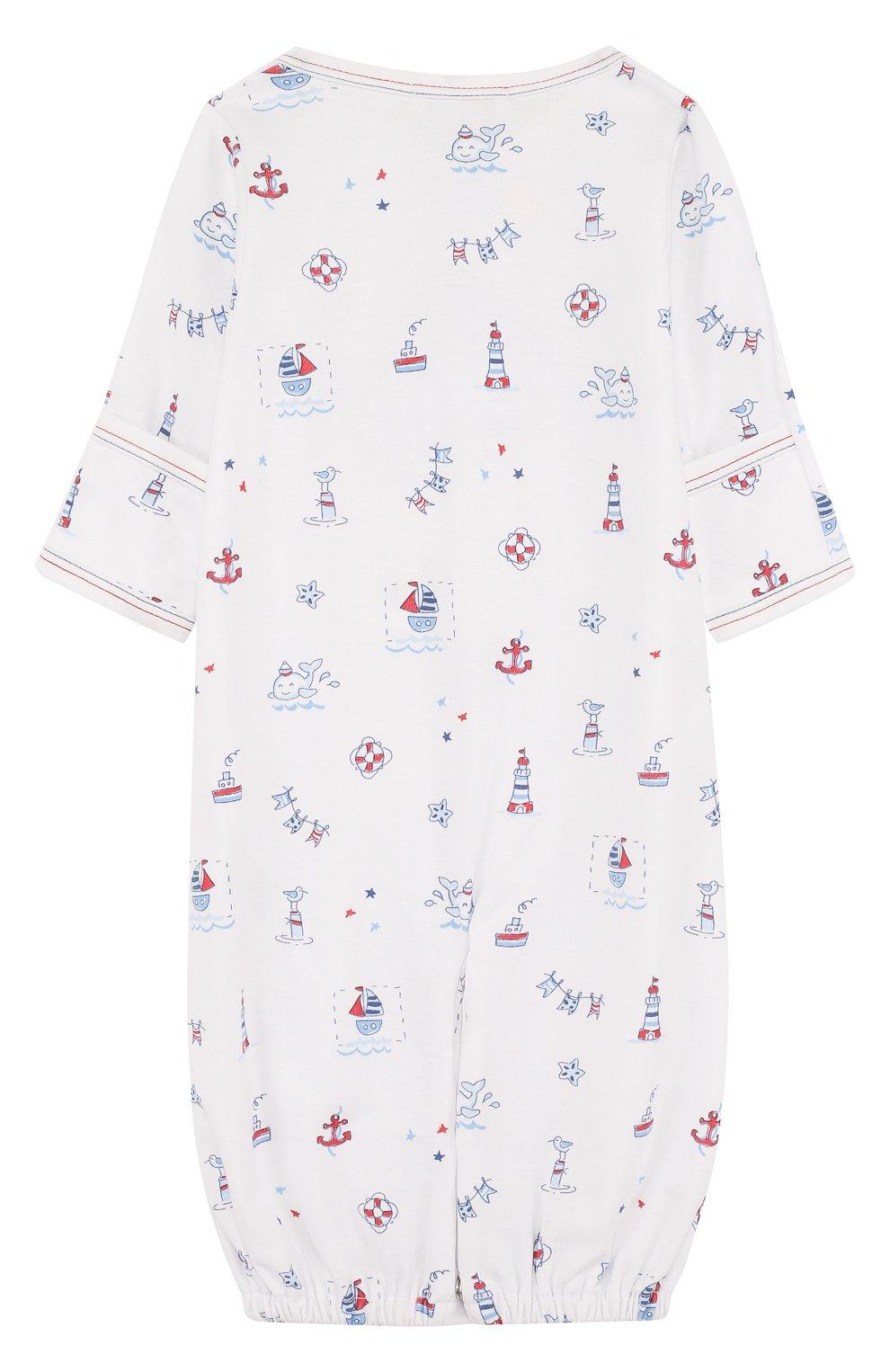 Детский хлопковая пижама с принтом KISSY KISSY разноцветного цвета, арт. S1846914P | Фото 2