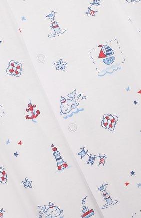 Детский хлопковая пижама с принтом KISSY KISSY разноцветного цвета, арт. S1846914P | Фото 3