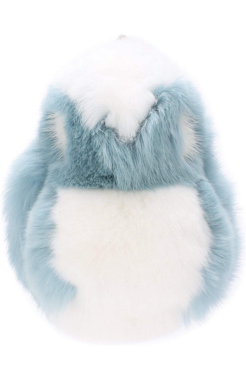 Брелок из меха кролика | Фото №2