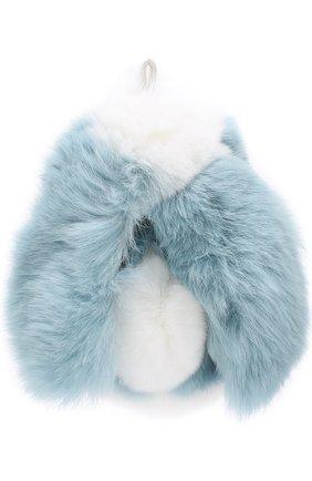 Брелок из меха кролика | Фото №3