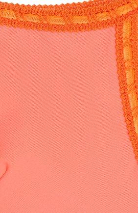 Детского раздельный купальник с бретелькой на одном плече LA PERLA розового цвета, арт. 67661/2A-6A | Фото 3
