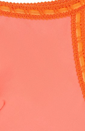Детского раздельный купальник с бретелькой на одном плече LA PERLA розового цвета, арт. 67661/8A-14A | Фото 3