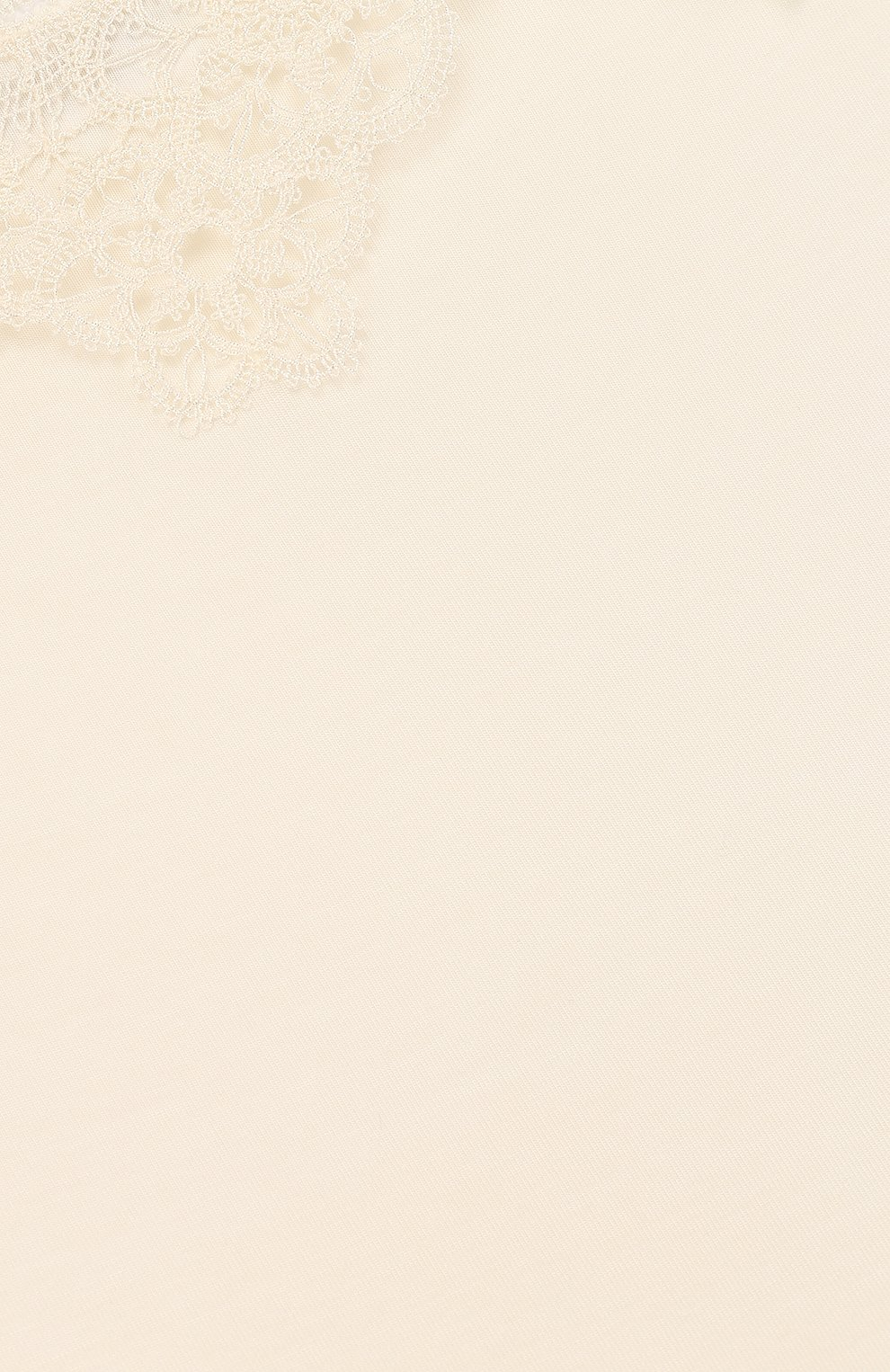 Майка из вискозы с кружевной отделкой | Фото №3