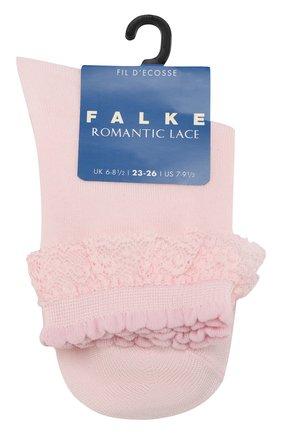 Детские носки FALKE светло-розового цвета, арт. 12141 | Фото 1