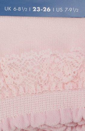 Детские носки FALKE светло-розового цвета, арт. 12141 | Фото 2
