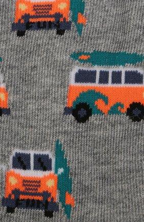 Детские носки с принтом FALKE серого цвета, арт. 12149 | Фото 2