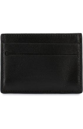 Мужской кожаный футляр для кредитных карт ERMENEGILDO ZEGNA черного цвета, арт. E1259T-AFR | Фото 1