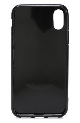Мужской чехол для iphone x с декоративной отделкой IPHORIA серебряного цвета, арт. 14515 | Фото 2