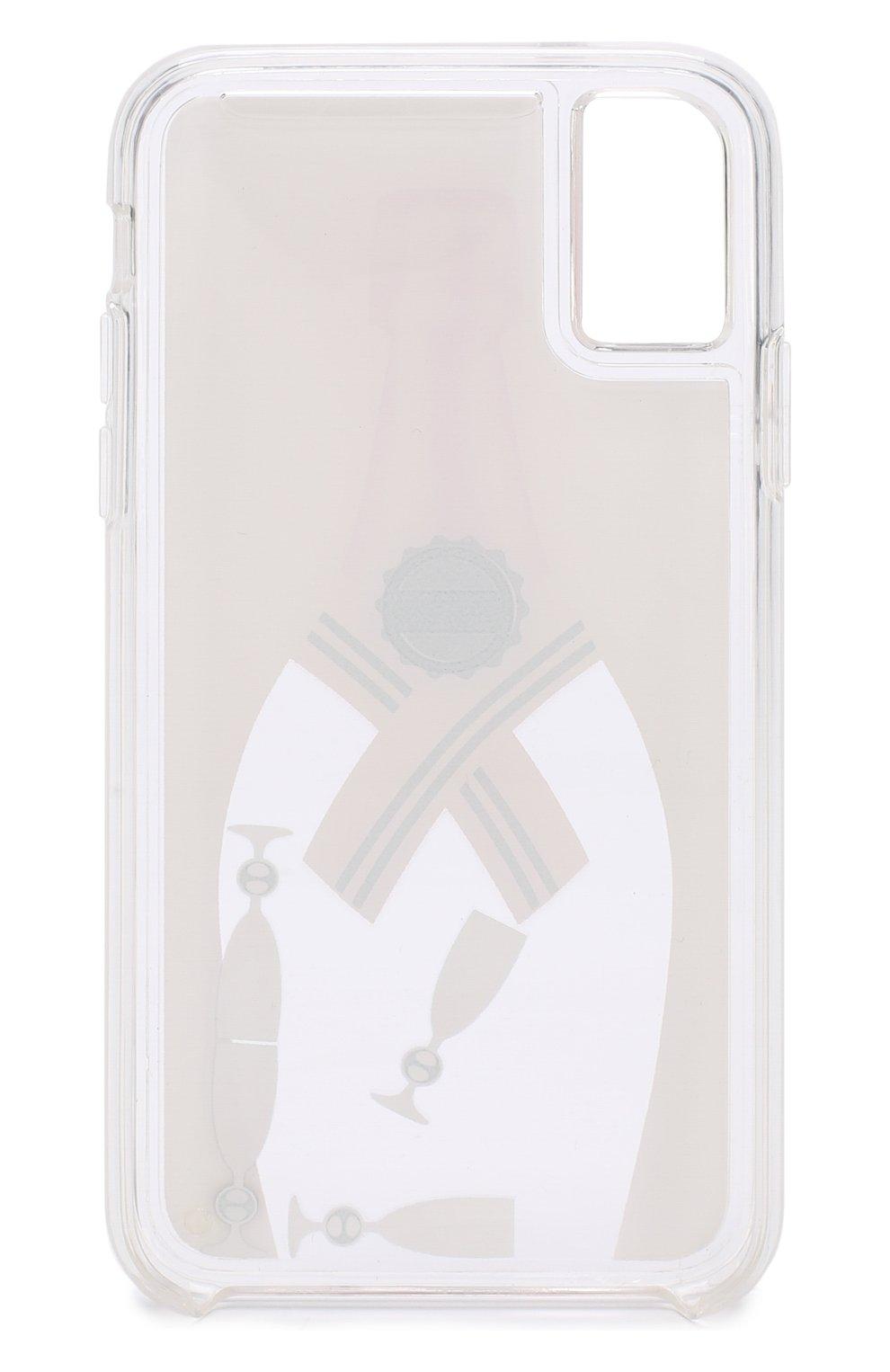 Мужской чехол для iphone x с декоративной отделкой IPHORIA бежевого цвета, арт. 14560 | Фото 2