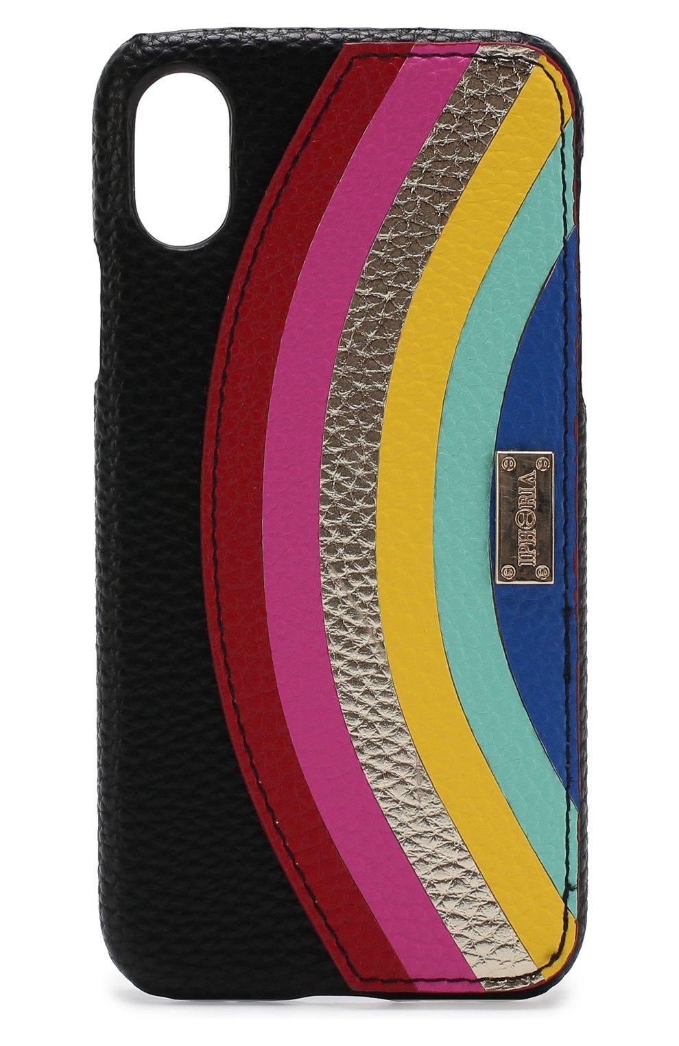 Мужской чехол для iphone x с декоративной отделкой IPHORIA разноцветного цвета, арт. 14601 | Фото 1
