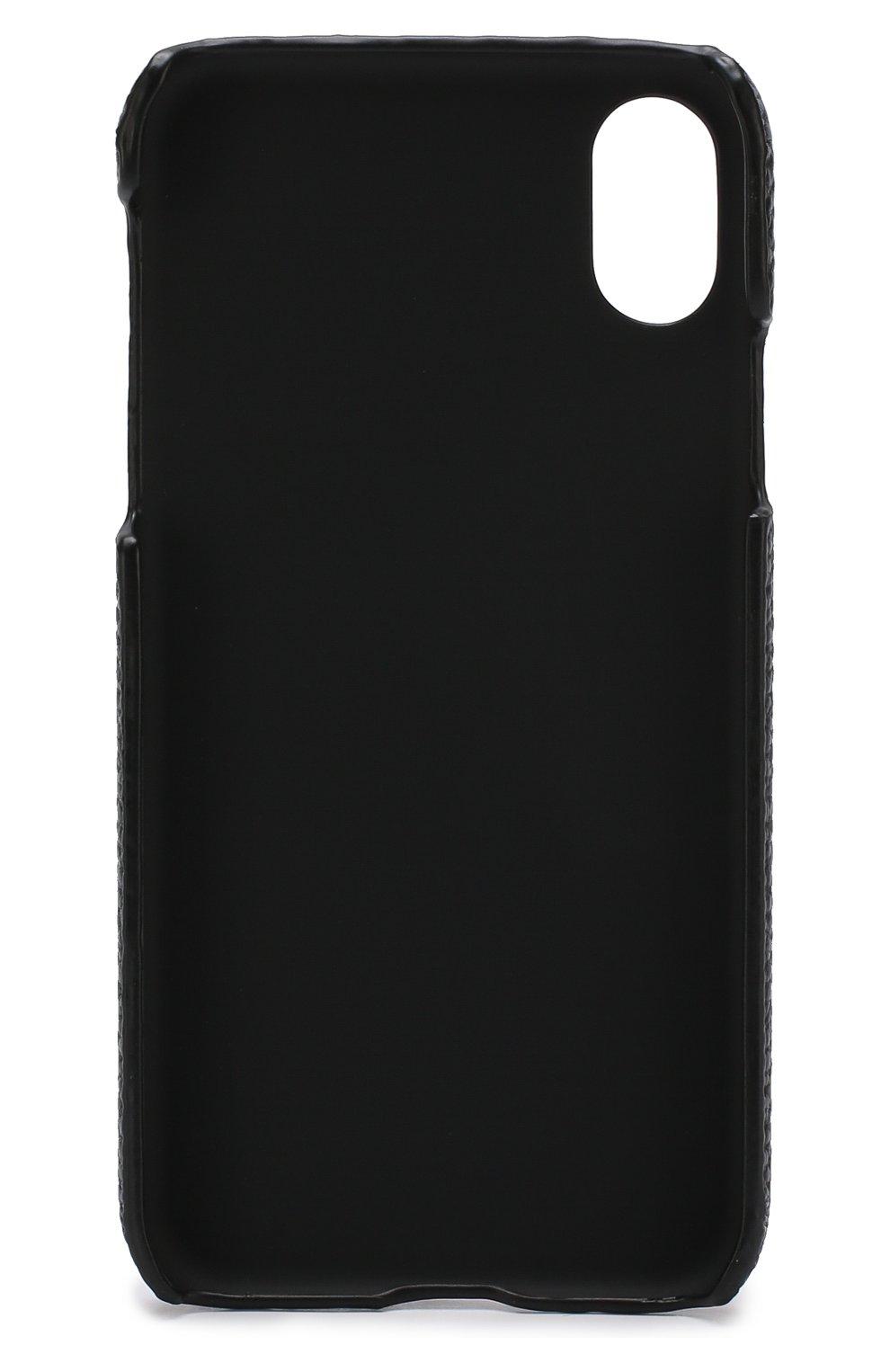Мужской чехол для iphone x с декоративной отделкой IPHORIA разноцветного цвета, арт. 14601 | Фото 2