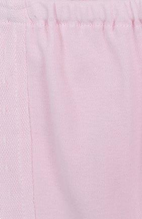 Хлопковый комплект из брюк с лонгсливом и кардиганом | Фото №5