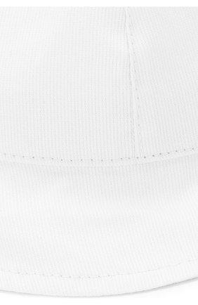 Детская панама с бантом CATYA белого цвета, арт. 812003 | Фото 3