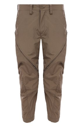 Укороченные брюки зауженного кроя | Фото №1