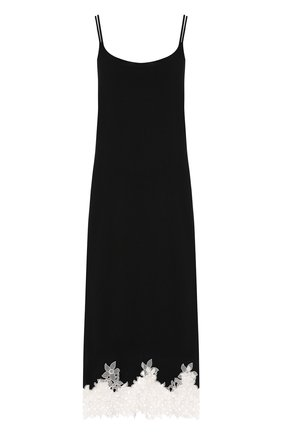 Сорочка из вискозы с кружевной отделкой | Фото №1