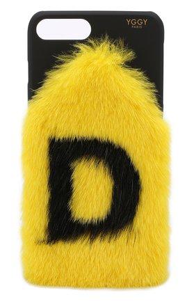 Мужской чехол для iphone 7 plus/8 plus YGGY желтого цвета, арт. MLC18-7+ | Фото 1