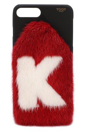 Мужской чехол для iphone 7 plus/8 plus YGGY красного цвета, арт. MLC18-7+ | Фото 1