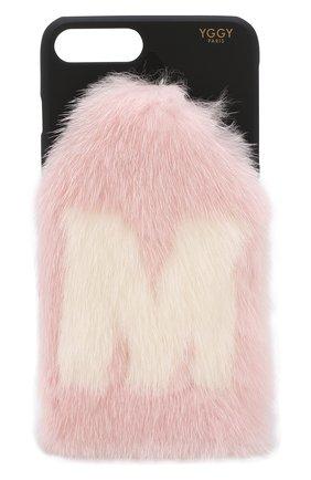 Мужской чехол для iphone 7 plus/8 plus YGGY розового цвета, арт. MLC18-7+ | Фото 1