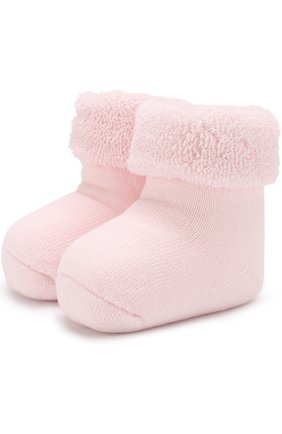 Детские хлопковые носки FALKE розового цвета, арт. 10612 | Фото 1
