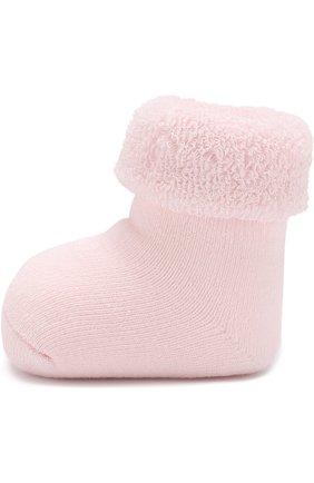 Детские хлопковые носки FALKE розового цвета, арт. 10612 | Фото 2