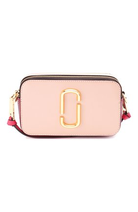 Женская сумка snapshot small MARC JACOBS (THE) светло-розового цвета, арт. M0012007 | Фото 1