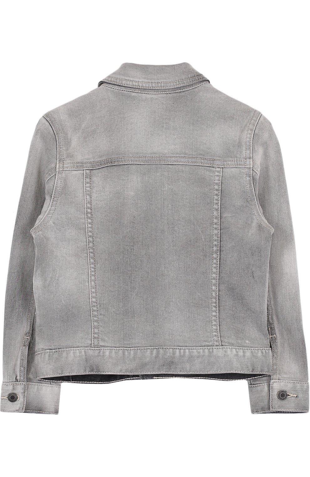 Джинсовая куртка с нашивками   Фото №2