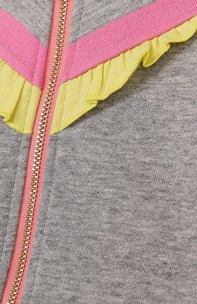 Детский хлопковый костюм из брюк и кардигана MARC JACOBS (THE) разноцветного цвета, арт. W08052   Фото 3