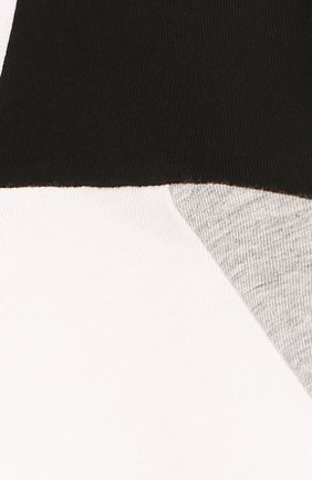 Детская хлопковая футболка с надписью KARL LAGERFELD KIDS белого цвета, арт. Z25129/14A-16A | Фото 3