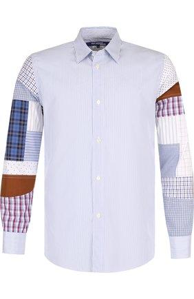 Хлопковая рубашка с отделкой | Фото №1
