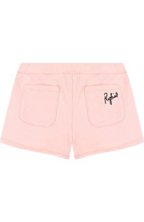 Детские шорты джерси Sonia Rykiel Enfant розового цвета | Фото №1