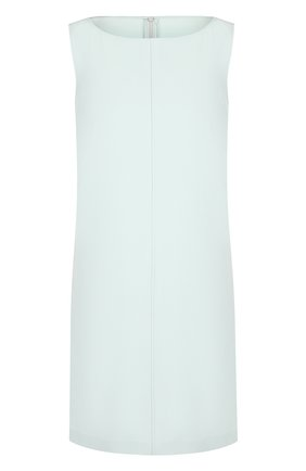 Однотонное мини-платье без рукавов | Фото №1