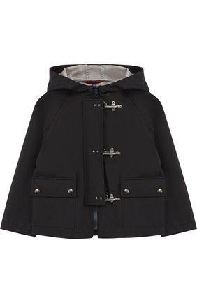 Куртка на молнии с капюшоном | Фото №1