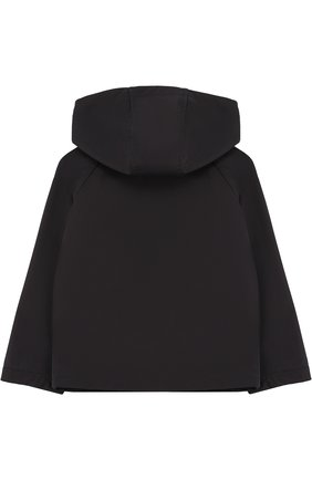 Куртка на молнии с капюшоном Fay Junior синего цвета | Фото №1