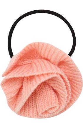 Резинка с декором Sonia Rykiel Enfant розового цвета | Фото №1