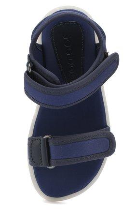 Детские текстильные сандалии с застежками велькро JOG DOG синего цвета, арт. LISB0NA 03R/LYCRA/30-35 | Фото 4