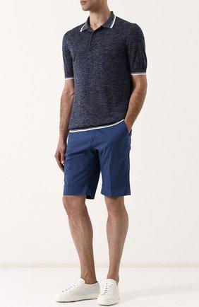 Хлопковые шорты с карманами | Фото №2