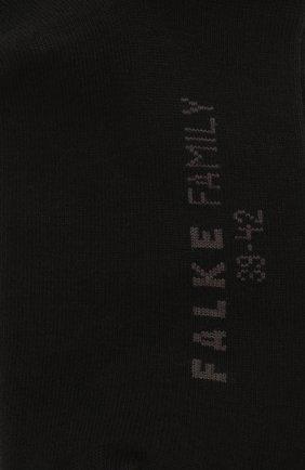 Мужские хлопковые носки family FALKE черного цвета, арт. 14645 | Фото 2