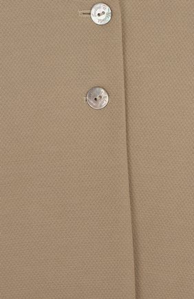 Детский пальто с расклешенными рукавами и круглым вырезом TARTINE ET CHOCOLAT бежевого цвета, арт. TL44002 | Фото 3