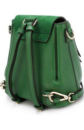 Рюкзак Faye mini Chloé зеленый | Фото №3